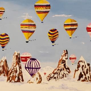 Balloons - OIl on Canvas - $595.jpg