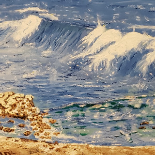 Tidal Wave - Oil on Canvas $595.jpg
