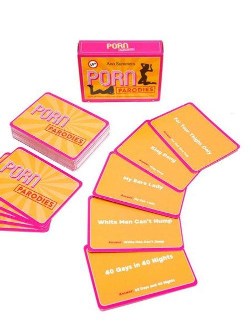 PORN PARODIES CARD GAME
