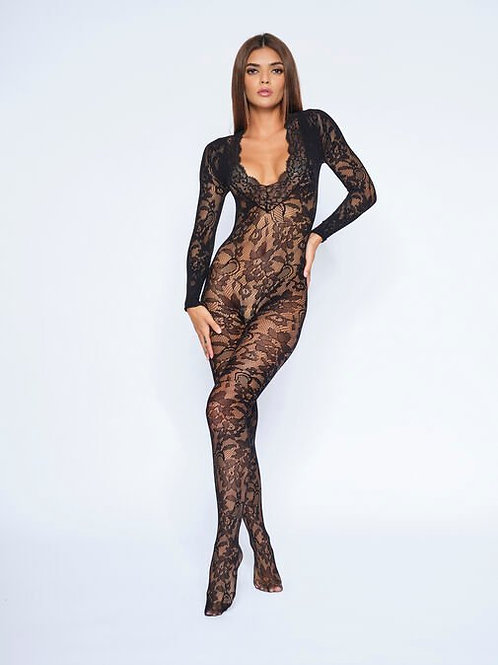 SUPREME CROTCHLESS BODY STOCKING