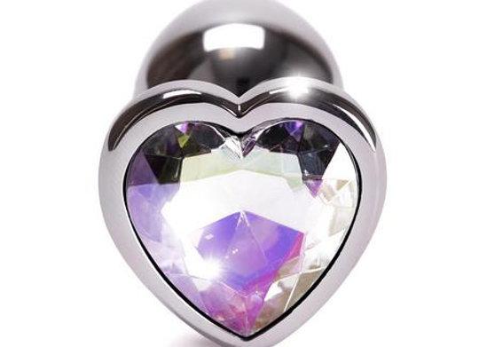 SMALL HEART METAL BUTT PLUG