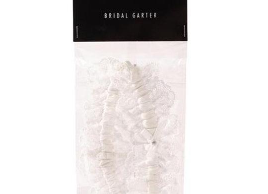 BRIDAL IVORY GARTER