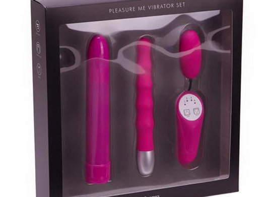 PLEASURE ME VIBRATOR SET