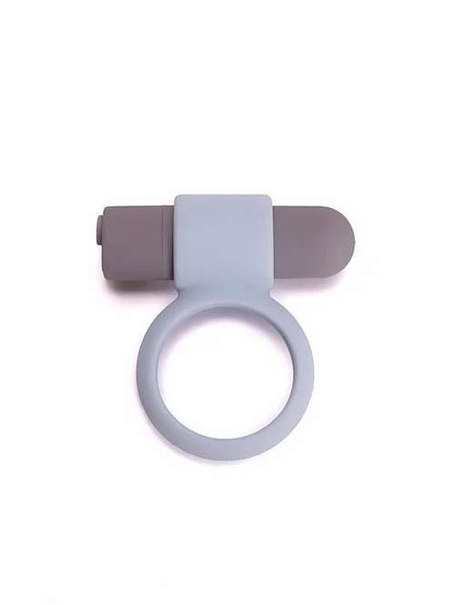 RECHARGABLE VIBRATING BULLET COCK RING