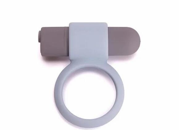 RECHARGABLE VIBRATING BULLET COCK RING