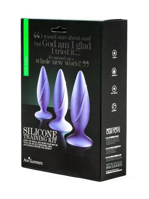 SILICONE ANAL TRAINING KIT