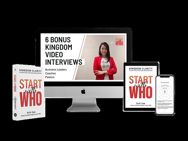6 Bonus video Interviews - transparent b