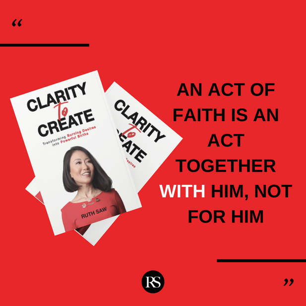 An act of faith is an act together with