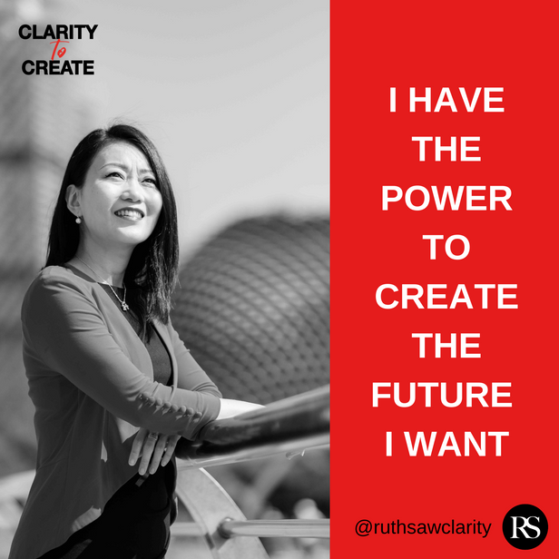 I have the power to create the future I