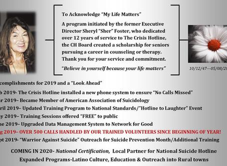 Legacy, Accomplishments and The Horizon...