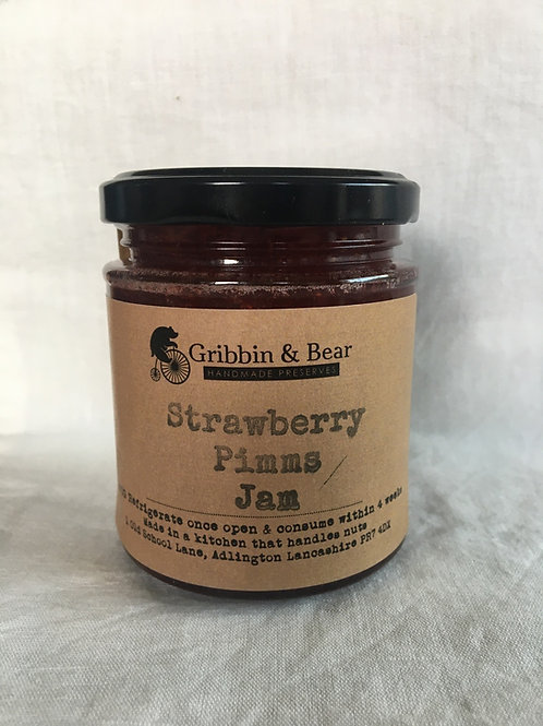 Strawberry & Pimms Jam 200g