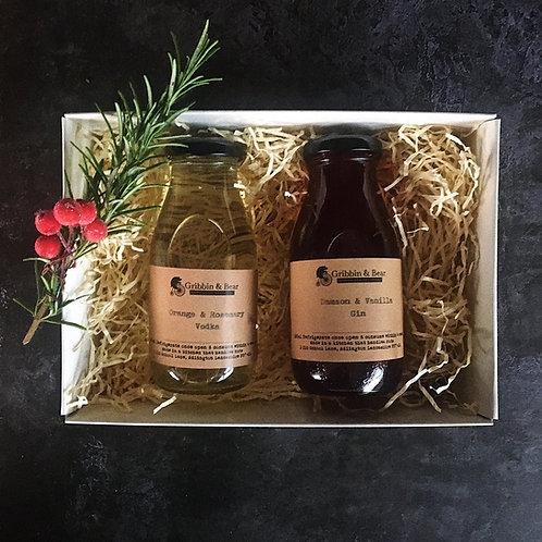Infused Gin & Vodka Gift Box