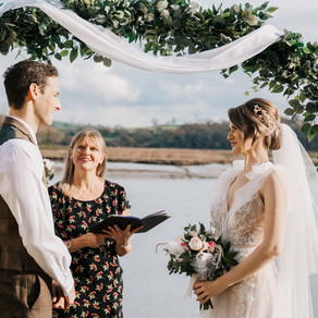 What's a celebrant and why have one for your wedding? - Guest Blog from Celebrant in Cornwall