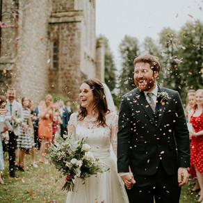 Glitter and Confetti at Weddings