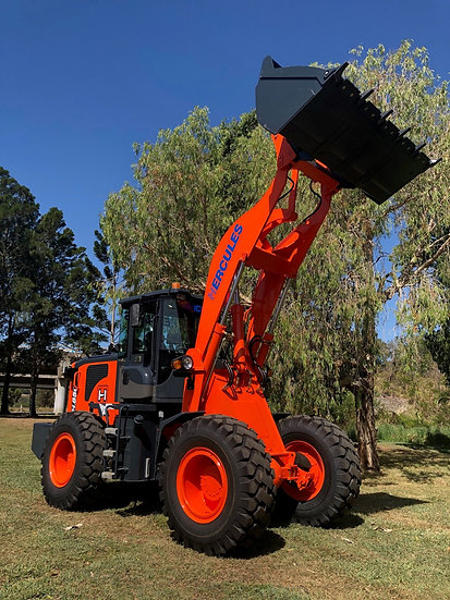 NEW 2021 NEXT GENERATION Hercules H850 Wheeled Loader has arrived!
