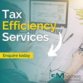 The benefits you'll experience with Tax Efficiency services.