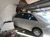 Buildsure car drives into house