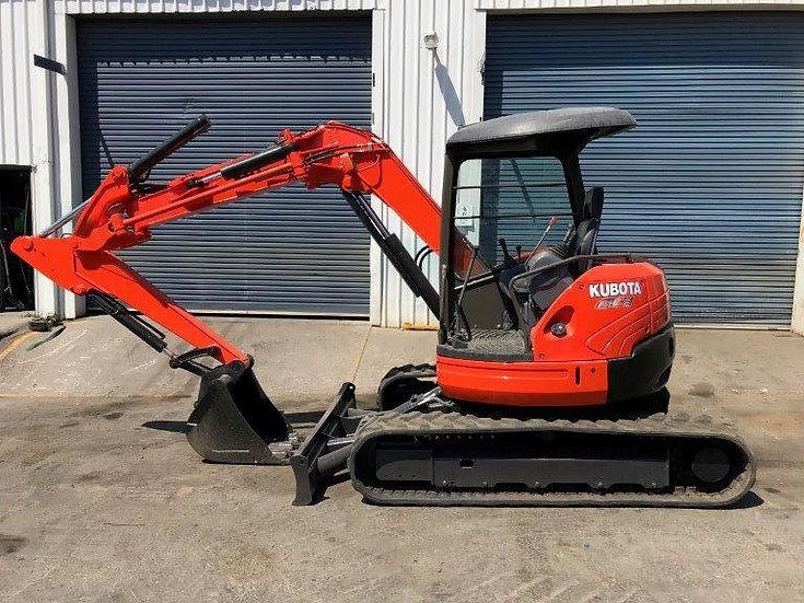 USED 2010 Kubota RX505 –  5.0 Tonne Excavator