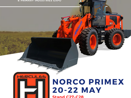 Hercules Loaders are heading to Norco PRIMEX🇦🇺