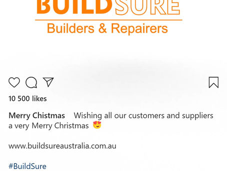 Merry Christmas from the BuildSure Team