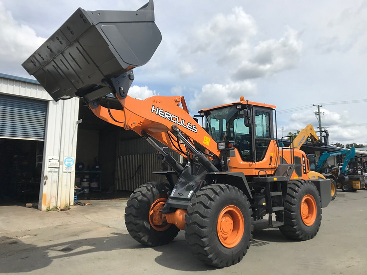 NEW 2020 NEXT GENERATION Hercules H1450 Wheeled Loader has arrived!
