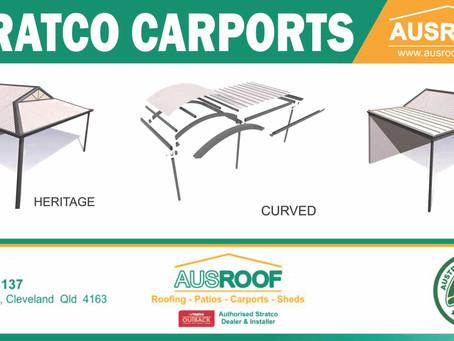 Stratco Product Spotlight!  Carports.