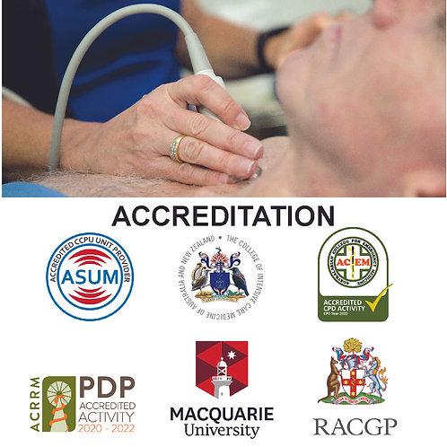 Advanced Emergency Medicine Ultrasound (POCUS) –  5 Day Course