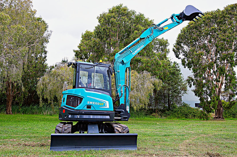 New 2021 Sunward SWE60UF mini excavator – 6 ton