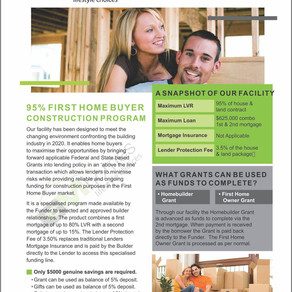 FIRST HOME BUYERS MUST READ!