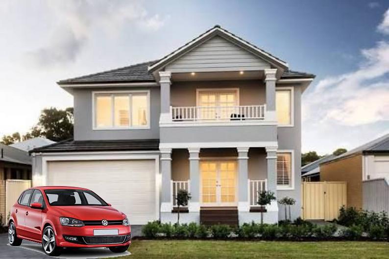 Buildsure Hampton House & Car