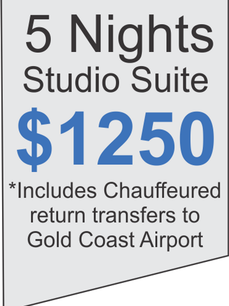 5 Nights Accommodation at Meriton Broadbeach Plus Limousine Airport Transfers