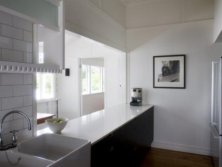 How To: Style Your Two Tone Kitchen.
