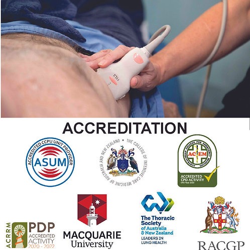Point of Care Lung Ultrasound - 2 Day Course Gold Coast