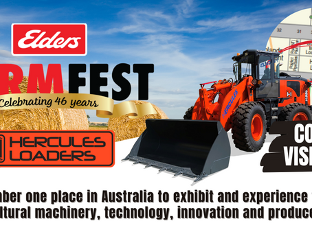 Gearing up for next week at FarmFest Toowoomba!