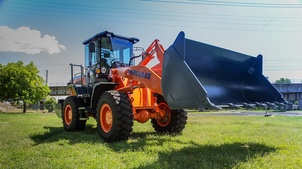 NEW 2020 NEXT GENERATION Hercules H1050 Wheeled Loader has arrived!