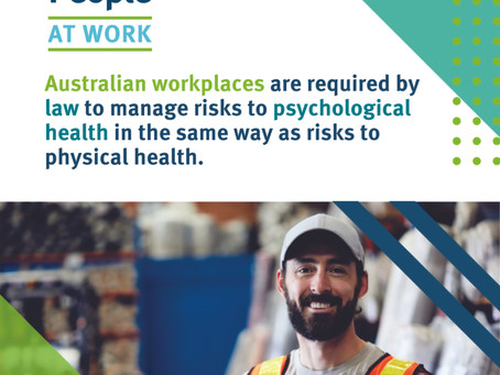 #FridayFact Workplace psychological health