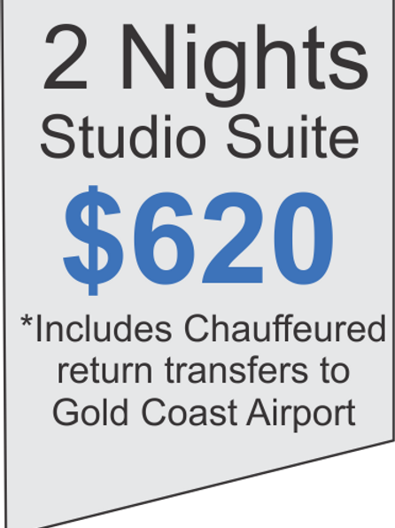 2 Nights Accommodation at Meriton Broadbeach Plus Limousine Airport Transfers