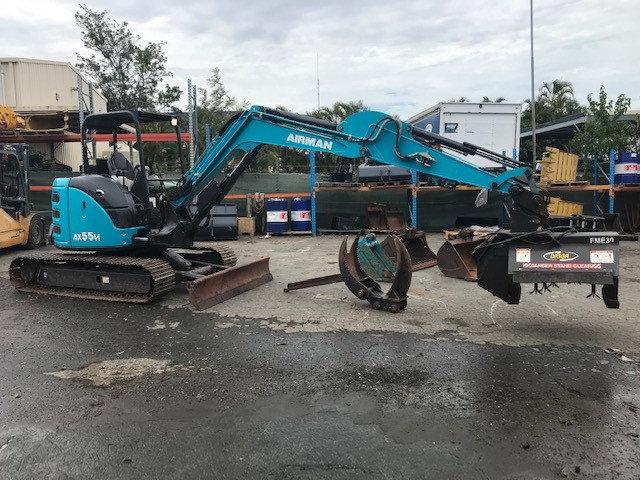 2018 AIRMAN AX55u-6A - 5.8 Tonne Excavator