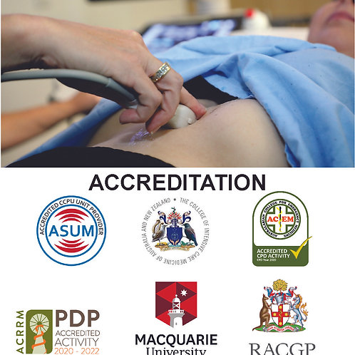 Introduction to Intensive Care Ultrasound- 3 Day Course