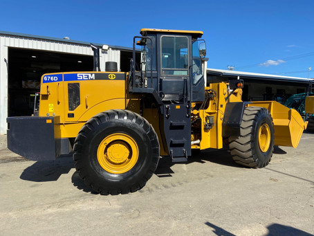 FOR SALE: Ex Demo SEM676D Ready To Work