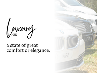 The definition of luxury: at Luxury Transfers.