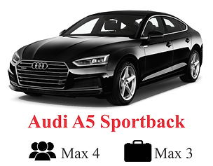Audi A5 Sportback with Icons and Name Ed