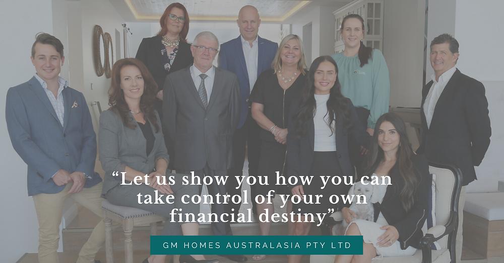 Team at GM Homes Australasia