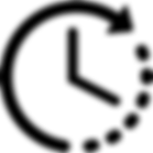 Luxury Transfer Clock Icon