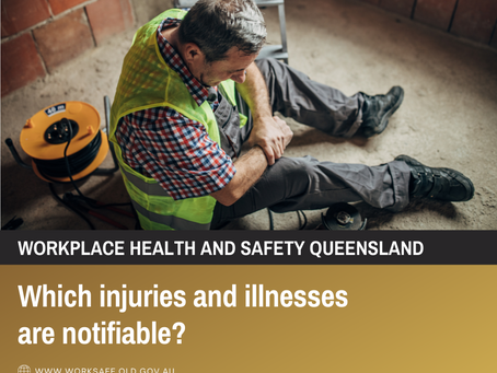 Which Injuries and Illnesses are Notifiable?