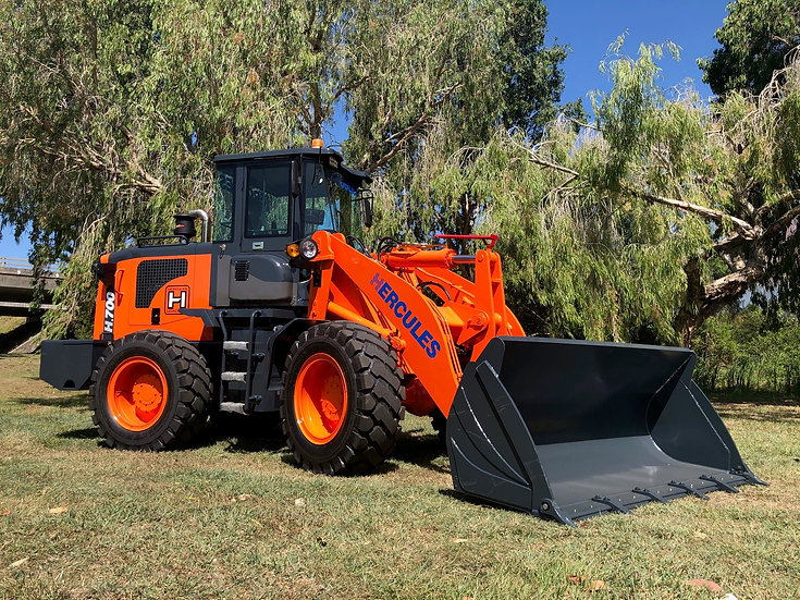 NEW 2020 NEXT GENERATION Hercules H700 Wheeled Loader has arrived!