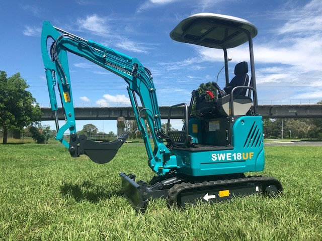 New 2021 Sunward SWE18UF mini excavator – 1.9 ton