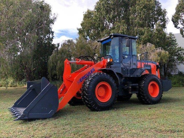 NEW 2020 NEXT GENERATION Hercules H1250 Wheeled Loader has arrived!