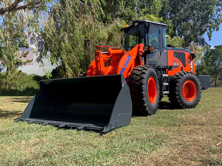 NEW 2020 NEXT GENERATION Hercules H850 Wheeled Loader has arrived!