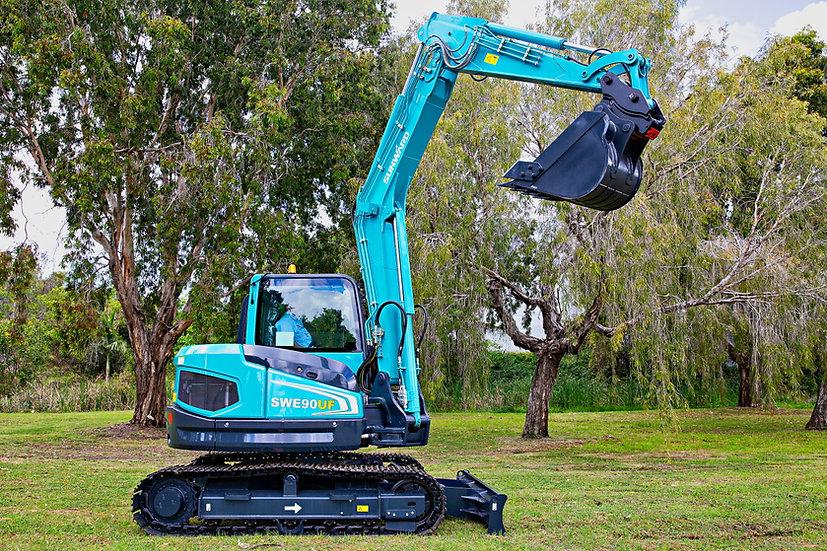 New 2021 Sunward SWE90UF mini excavator – 9 ton